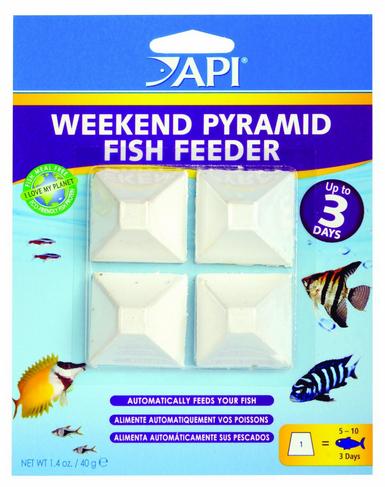 seaview aquarium centre api 3 day pyramid vacation feeder