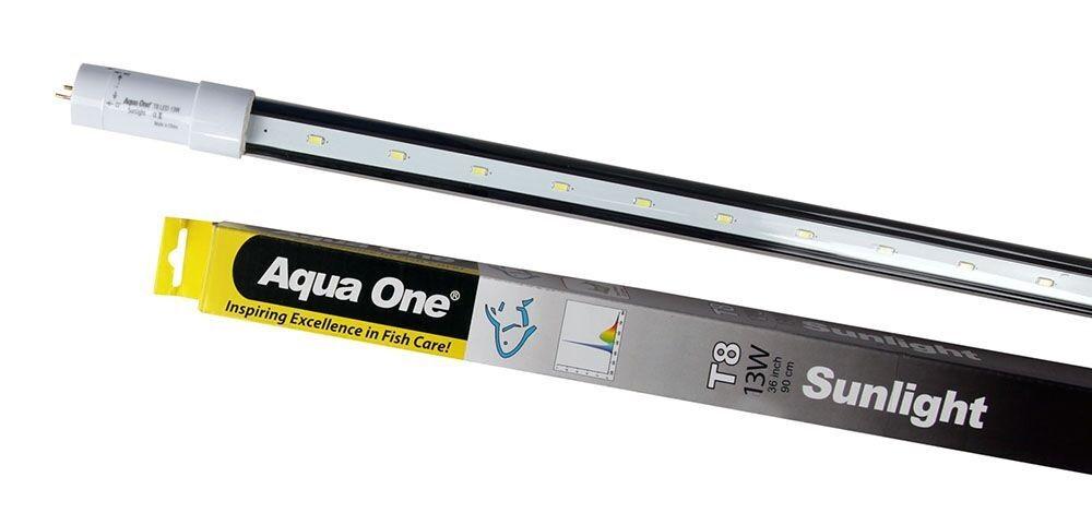 Seaview Aquarium Centre - Aqua One T8 LED Tube Sunlight 13W (90cm)