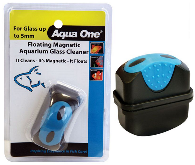 Floating Magnetic Cleaner Small Fish & Aquariums
