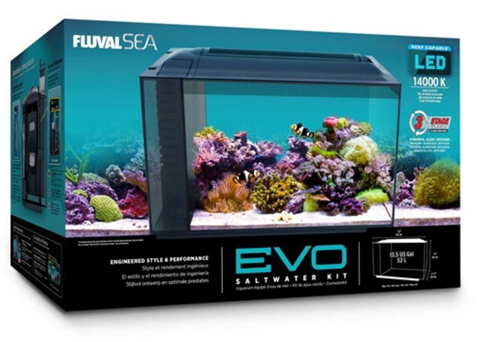 Seaview Aquarium Centre Fluval Sea Evo Aquarium Kit 52l