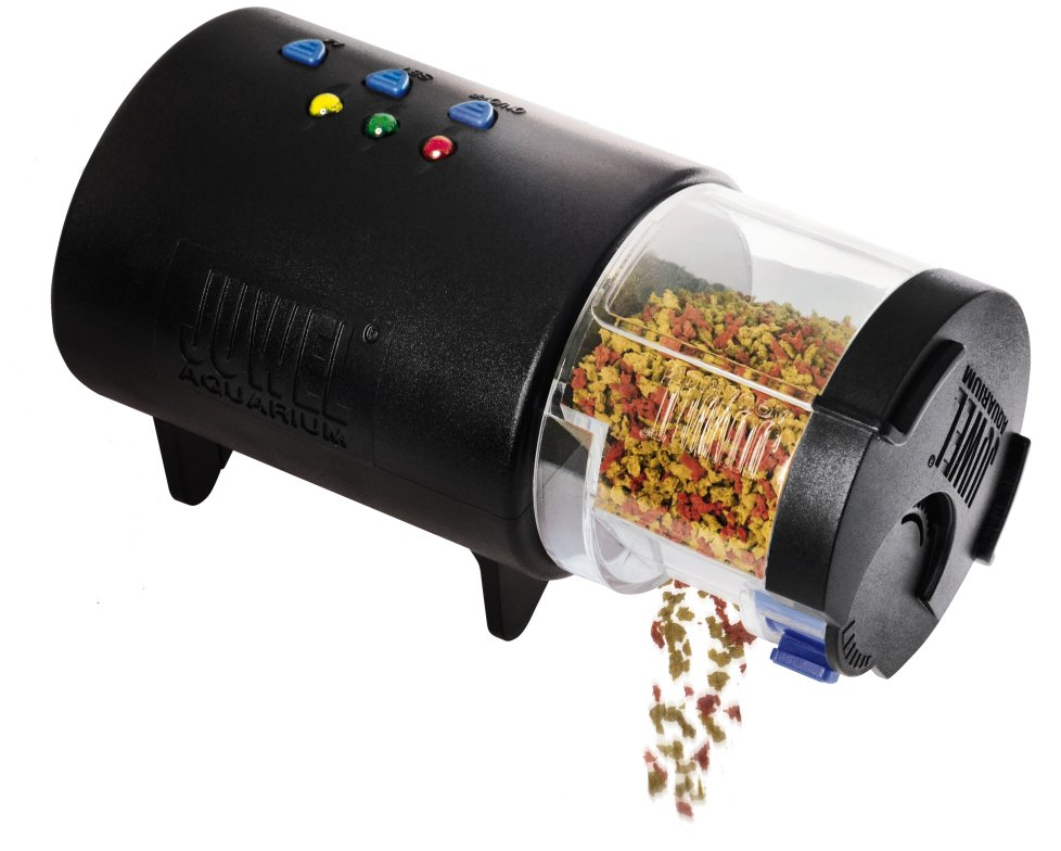automatic fish operated watch battery auto feeder youtube eheim review