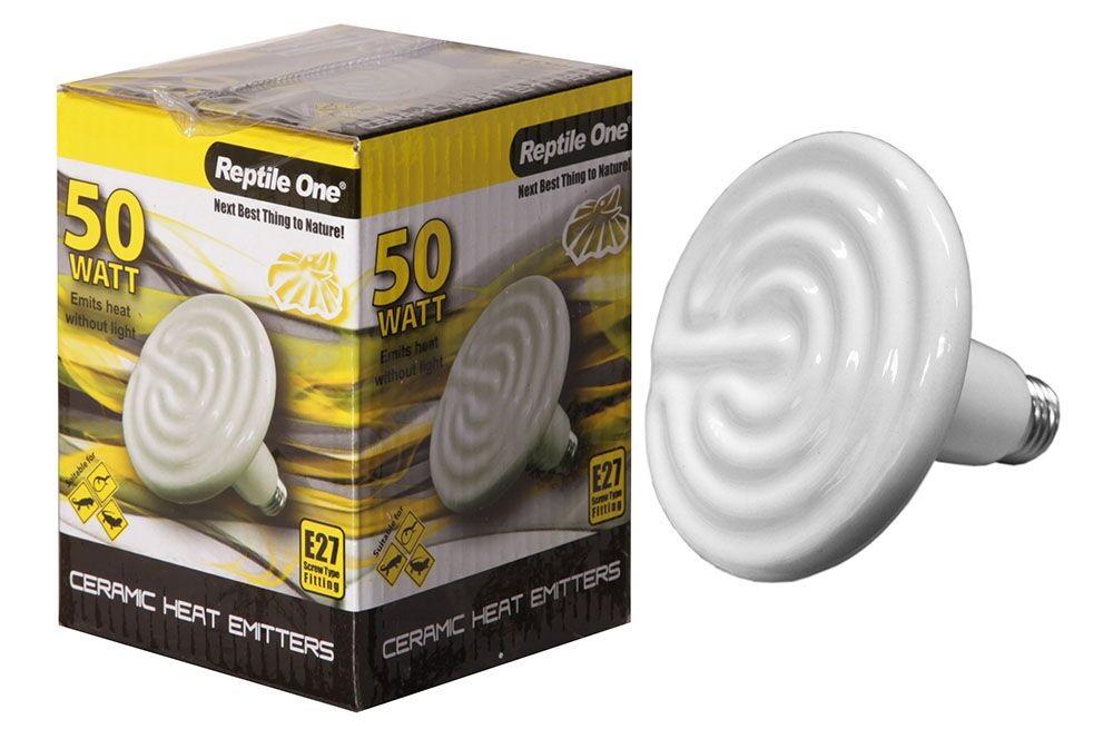 Reptile One Ceramic Heat Lamp 50w